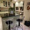 Köögisaar ja tasaping graniidist Absolute Black
