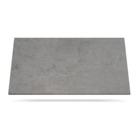 Keramisk benkeplate Beton i grå farge