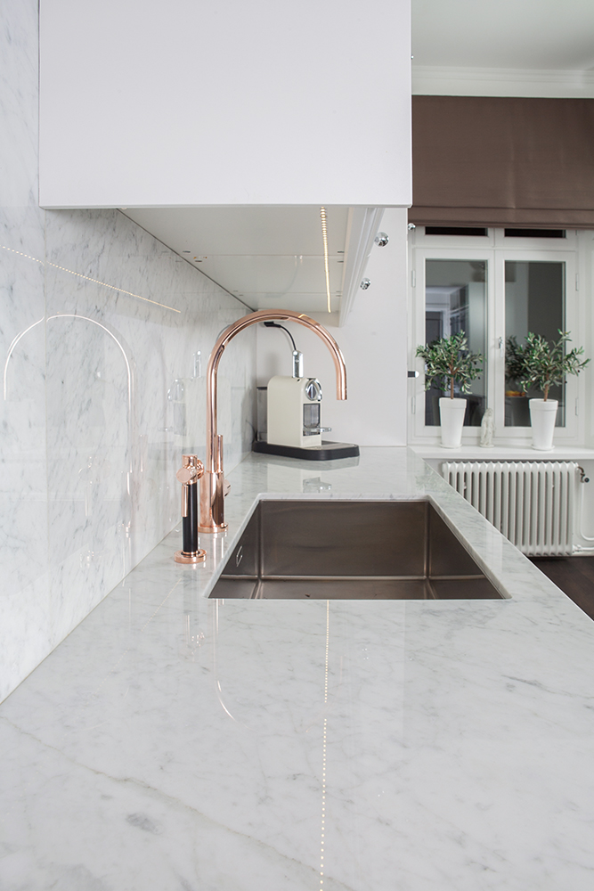 Carrara Grey Amp White Marble For Kitchen Marble Diapol