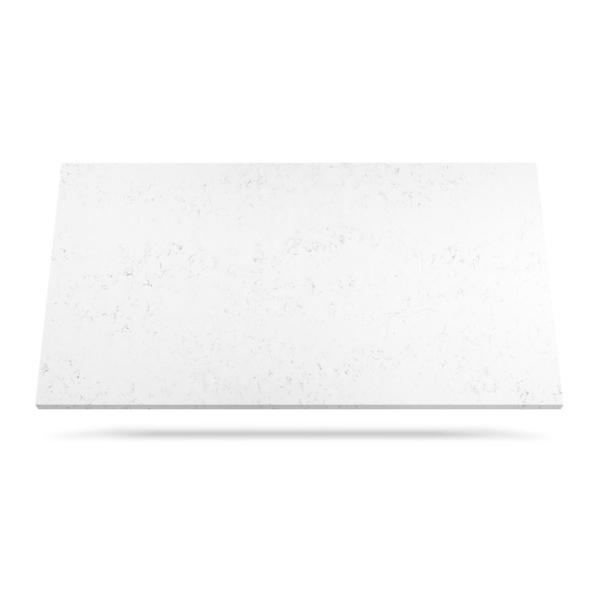 Carrara Quartz kvarts benkeplate hvit marmor
