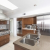 Wood And Stainless Steel Kitchen