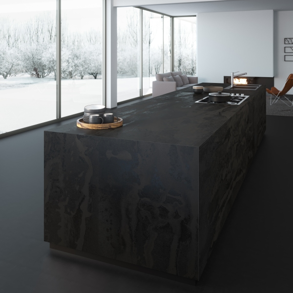 Dekton Radium_kitchen block