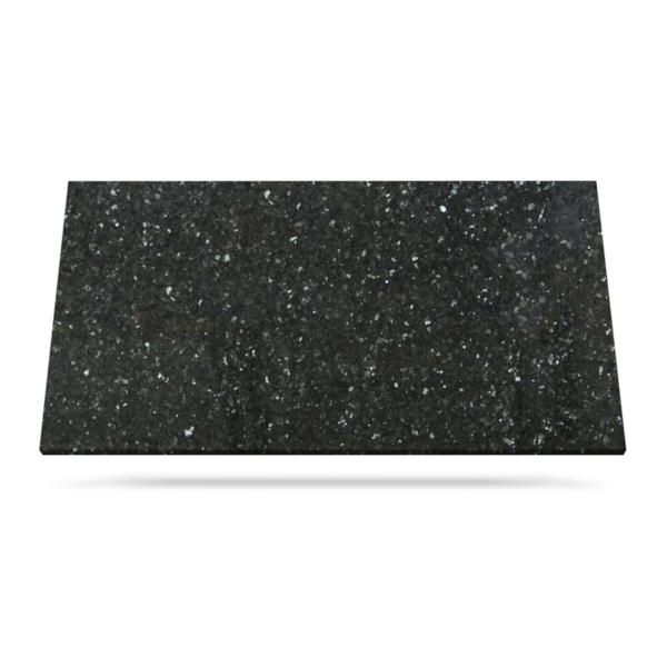 Emerald Pearl svart blå granitt benkeplate er et trygt valg for kjøkken eller bad