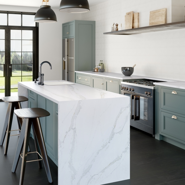 Eternal Calacatta Gold-RS11271_Silestone Kitchen- Diapol