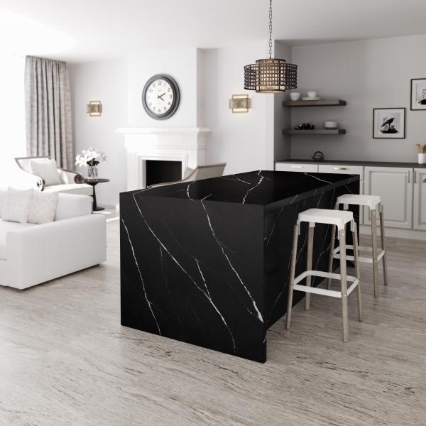 Eternal Marquina-diapol-quartz-silestone