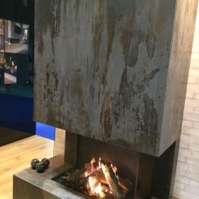 Trilium fireplace