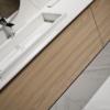Keraamiline vannitoa tasapind materjalist Ice Blanco