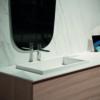 Keraamile vannitoa tasapind materjalist Ice Blanco