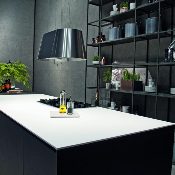Köögisaar keraamilisest materjalist Ice Blanco