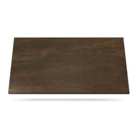 Oxide Corten benkeplate keramikk brun