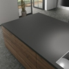 Ceramic worksurface material silk-b-negro-abujardado