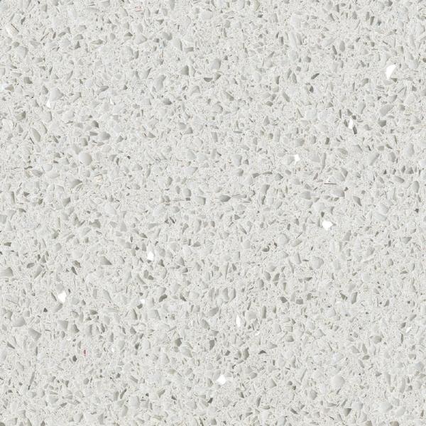 Kvartsmaterjal Starlight White