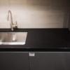 Vanitytop made of quartz Black Night