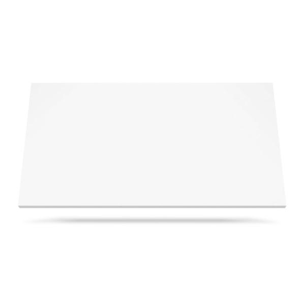 Super White kvarts benkeplate for kjøkken eller bad