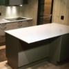Kvartsist White Mirror köökitasapind ja köögisaar