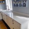 Köögitasapind kvartsist White Mirror