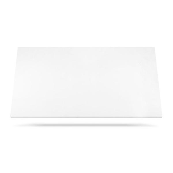 White Quartz kvarts benkeplate for kjøkken eller bad