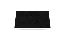 Black mirror svart benkeplate i kvarts til kjøkkenet eller bad