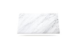 Carrara C hvit marmor benkeplate med grå årer passer til kjøkken eller bad