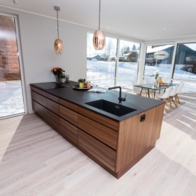 Kjøkken benkeplate i keramikk Sirius