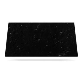 Via Lactea svart granitt benkeplate til kjøkken eller bad