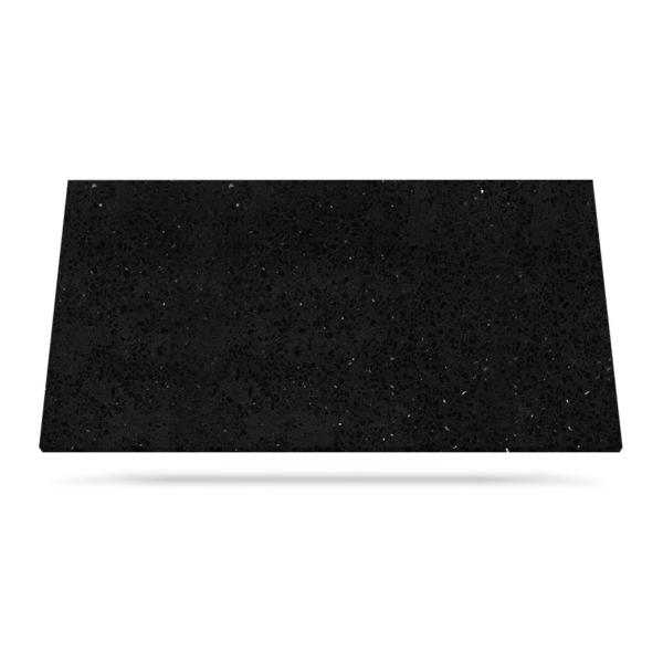 Quartz countertop material Black Mirror