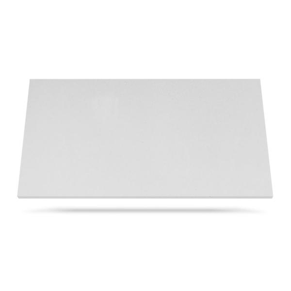 Quartz countertop material Aurora White