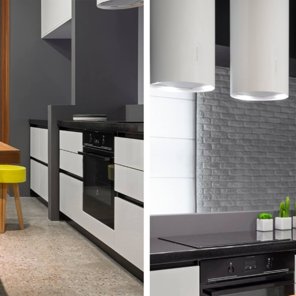 Scala wooden cabinets set for kitchen