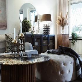 Sofabord i granitt Black Taurus