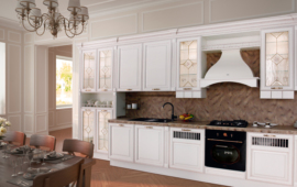 Diana wooden cabinets set for kitchen.