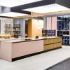 Couture wooden cabinets set for kitchen