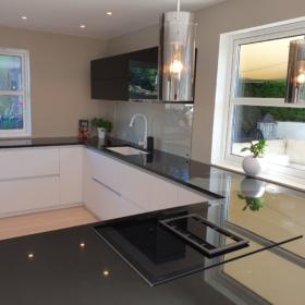 Kjøkken benkeplate I granitt Absolute Black