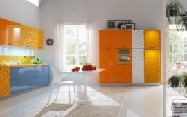Rocka wooden cabinets set for kitchen