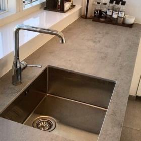 Kjøkken benkeplate i keramikk Beton