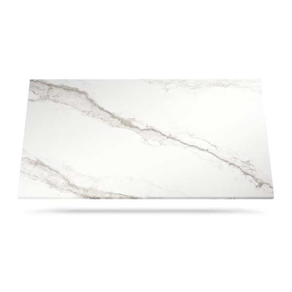 Ceramic worktop material Larsen Blanco