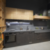 Scale wooden cabinets set for kitchen
