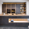 Petra wooden cabinets set for kitchen