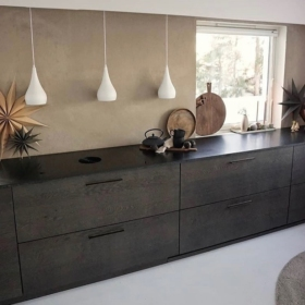 Köögi töötasapind graniidist Absolute Black