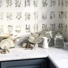 Køkkenbordplade lavet af Carrara C marmor