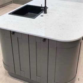 Køkkenbordplade lavet af kvarts Venatino