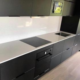 Köögisaar kvartsist White Mirror