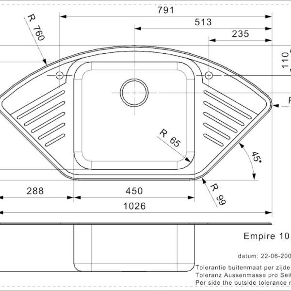 Vasker Empire 10 (L) Reginox
