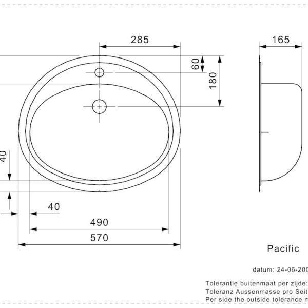 Vasker Pacific Reginox