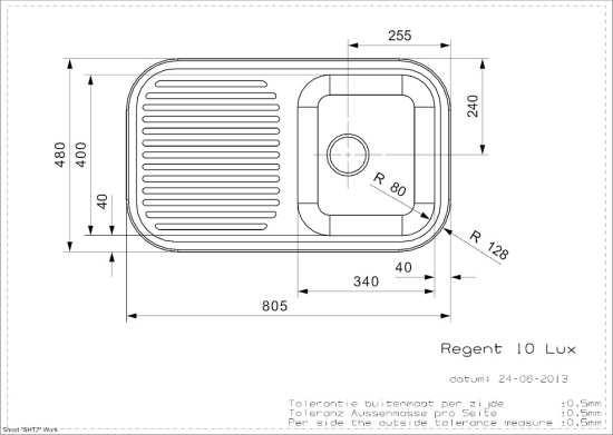 Vasker Regent 10 (R) Reginox