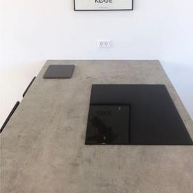 Ceramic worktop material Beton